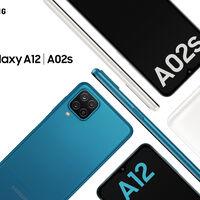 Samsung Galaxy A12 y A02s: los primeros móviles de Samsung para 2021 son dos gama de entrada que dan un salto en batería