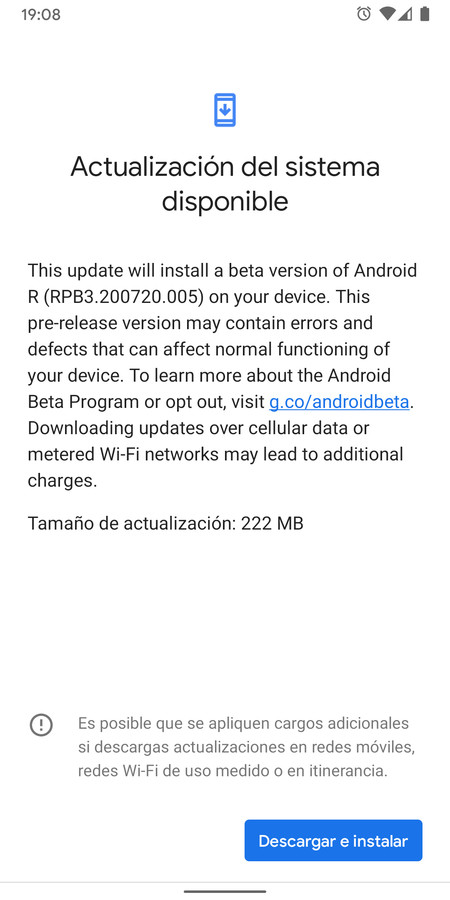 Android 11 Beta 3