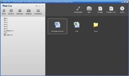 Prot-ON, una herramienta para proteger y administrar los archivos que compartimos