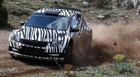 El nuevo Škoda Fabia R5 se insinúa en vídeo