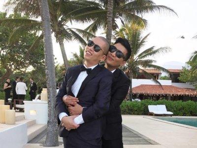 Porque para bailar un tango hacen falta dos Jason Wu se ha casado con su novio de toda la vida