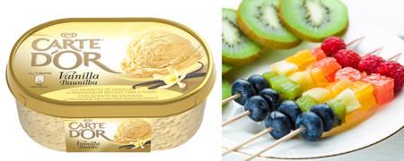 Combinaciones golosas con helado