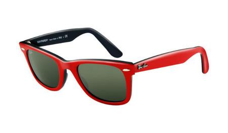 gafas de sol ray ban rojas