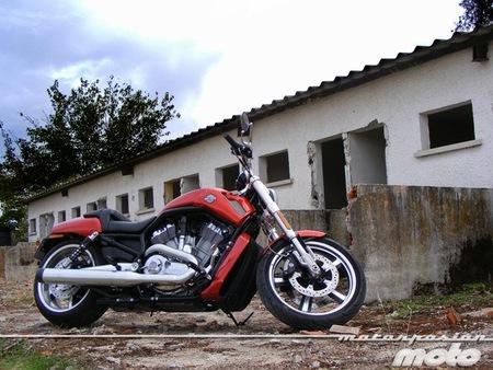 Harley-Davidson V-Rod Muscle, prueba (conducción en ciudad y carretera)