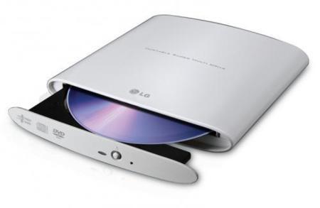 LG GP08NU20, grabadora ligera y compacta para ultraportátiles