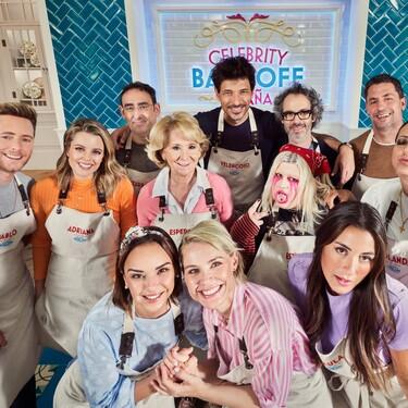 De Chenoa a Andrés Velencoso y Esperanza Aguirre: Todos los concursantes y detalles de 'Celebrity Bake Off', el reality que nos va a subir el azúcar