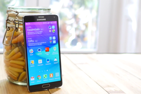 Samsung Galaxy Note 4 análisis frontal