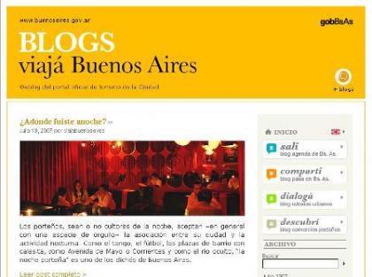 Viajá Buenos Aires, nuevo blog turístico de la ciudad