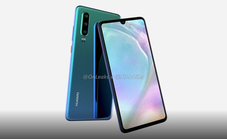 """Huawei P30: estas imágenes """"confirman"""" las tres cámaras traseras para el hermano pequeño de la familia"""
