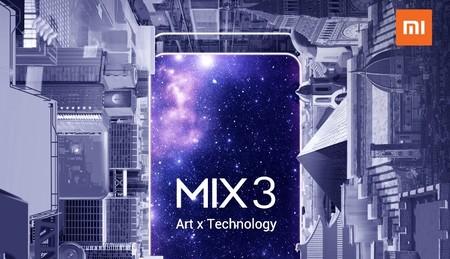 Xiaomi Mi MIX 3: todo lo que se sabe del primer smartphone con 10 GB de RAM antes de su presentación oficial