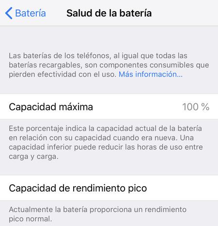 programa batería iPhone