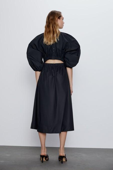 Staud Vestido Cut Out Zara 02