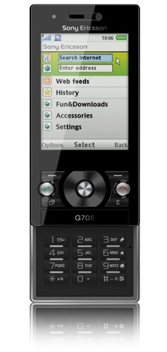 Sony Ericsson G705 con Orange