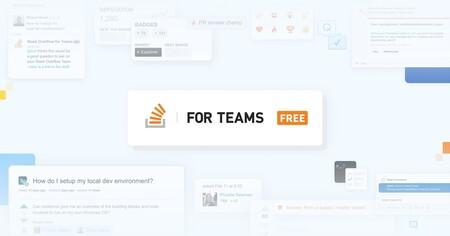 Stack Overflow for Teams gratis para siempre para hasta 50 usuarios: el nuevo plan gratuito ya está disponible