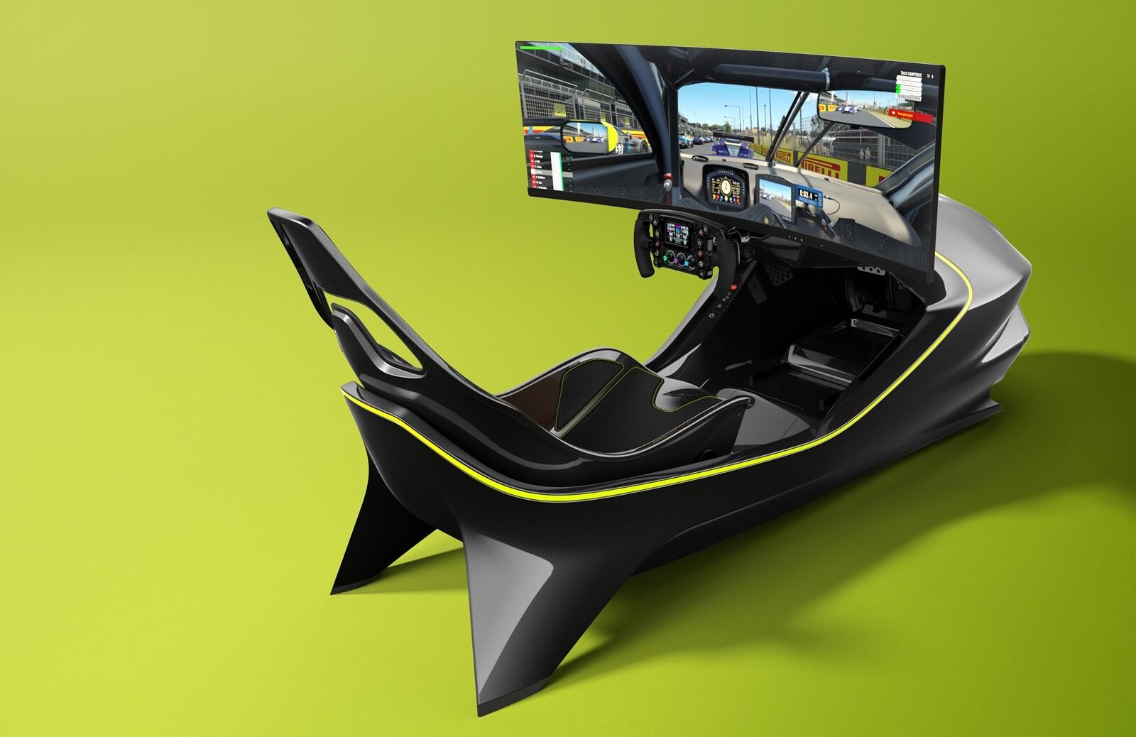Foto de Simulador Aston Martin AMR-C01 (10/19)