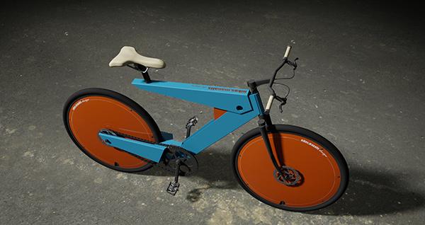 Bicicleta Eléctrica Nikos Manafis