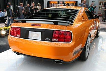 2007 Saleen Mustang Parnelli Jones Limited Edition