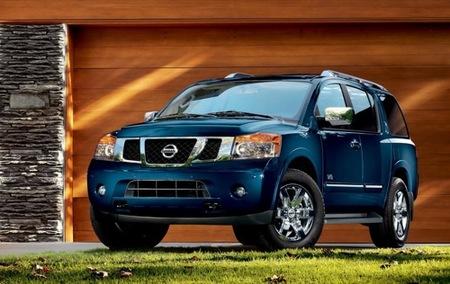 Nissan Armada, SUV japonés para Estados Unidos