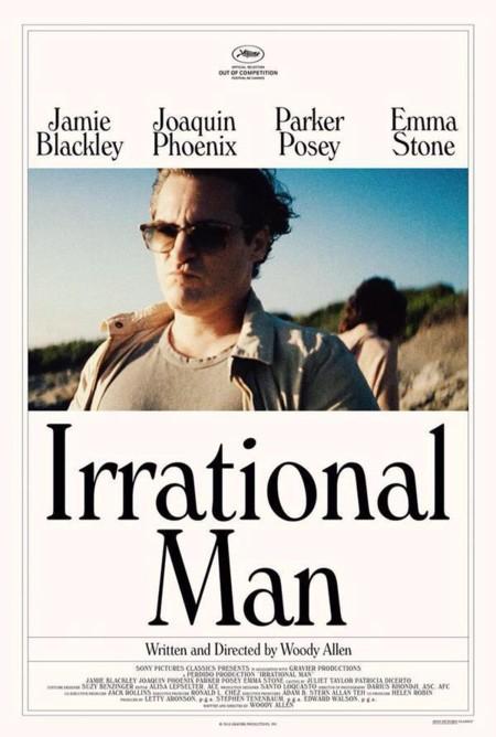 Primer cartel de Irrational Man