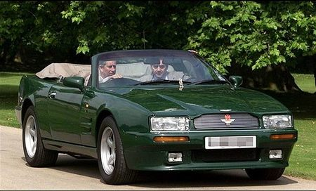 Aston Martin Virage Volante Prince Charles