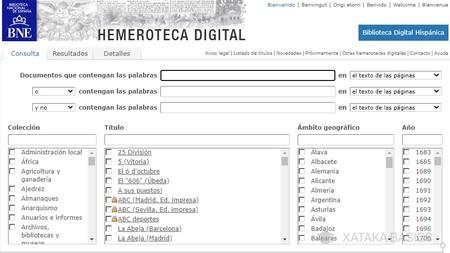 Hemeroteca Bne