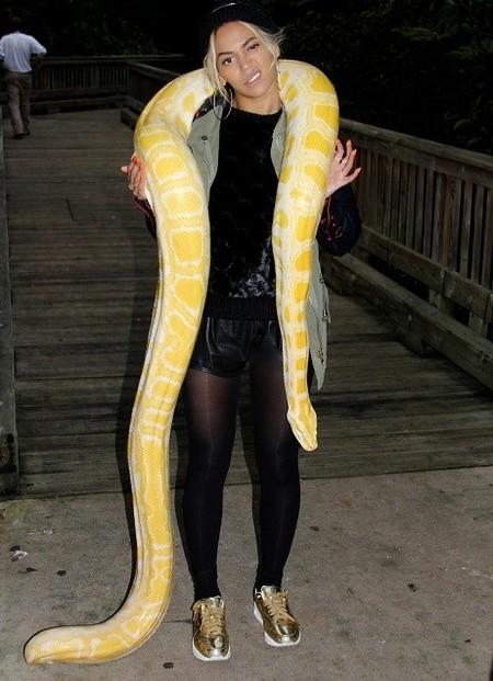 beyonce serpiente