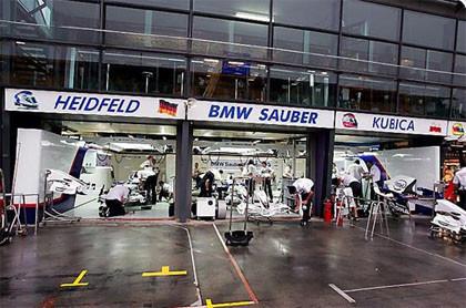 BMW Sauber libres Australia