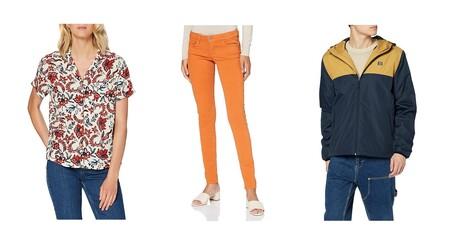 Chollos en tallas sueltas de camisetas, chaquetas y vestidos  Pepe Jeans, Superdry o Jack & Jones a la venta en Amazon