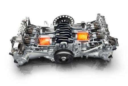 Motor Boxer Subaru 3