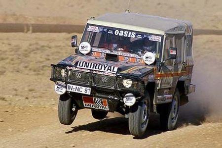 Itis en el Dakar