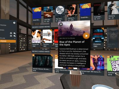 Plex da el salto a la realidad virtual con Daydream: ve vídeos con amigos en un salón virtual