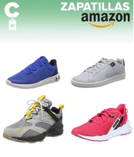 Chollos en tallas sueltas de zapatillas Under Armour, Nike, Reebok o Puma por menos de 40 euros en en Amazon