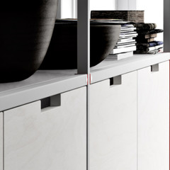 Foto 20 de 21 de la galería meccanica-un-sistema-de-almacenaje-muy-versatil-y-minimalista en Decoesfera