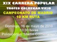 XIX Carrera popular de Colmenar Viejo
