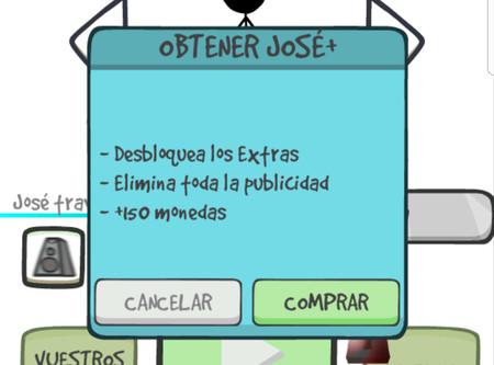 José+, desbloquear el juego completo por 1,99 euros