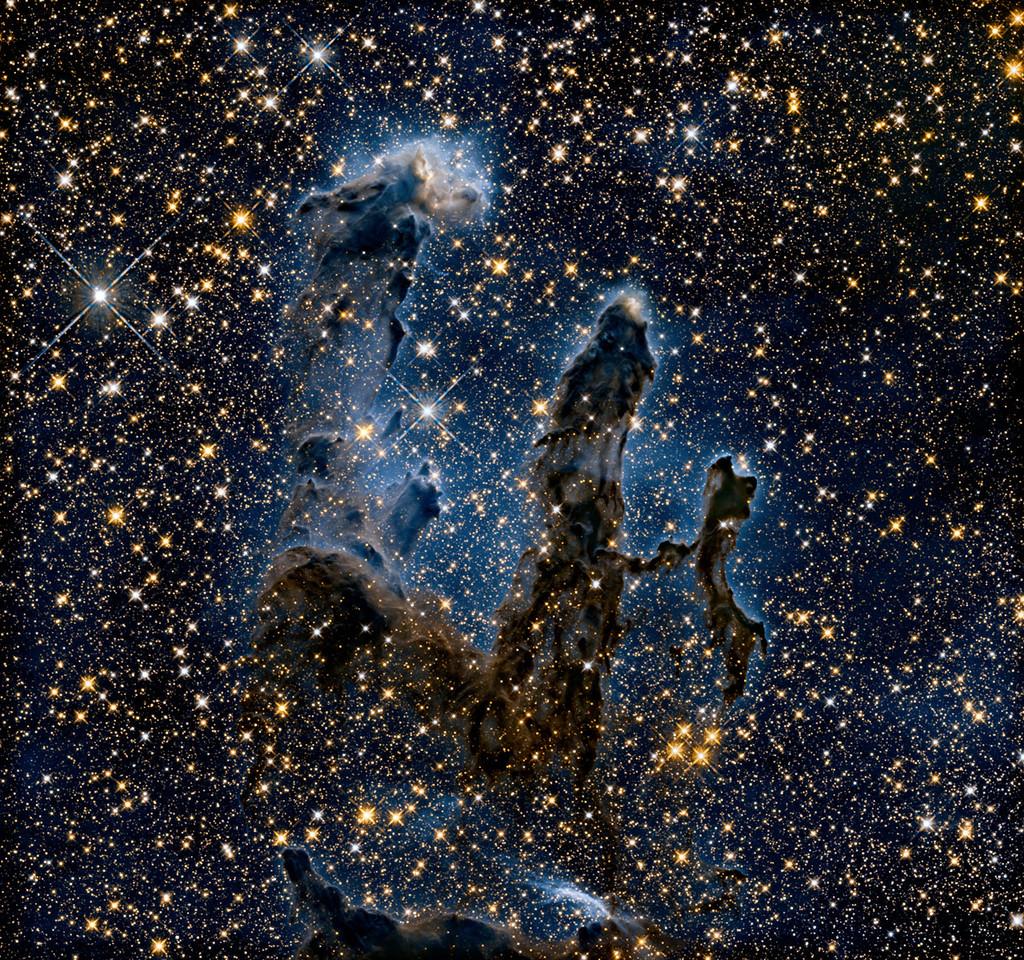 Los Pilares de la Creación (Hubble)