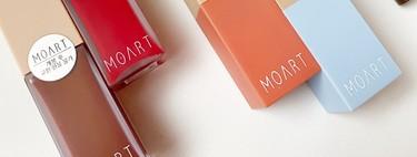 Probamos los imprescindibles de MOART, la firma de maquillaje llegada desde Corea del Sur que es súper elegante, minimalista y moderna