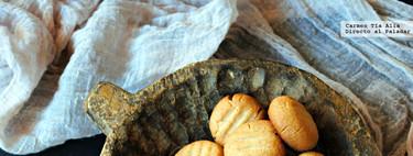 Tahini cookies o galletas de pasta de sésamo. Receta de Yotam Ottolenghi