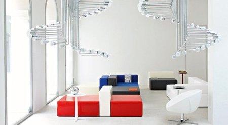 Con 100x100gracco de Busnelli, construye tu propio sofá