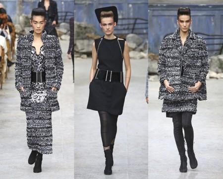 Blanco y negro en Chanel