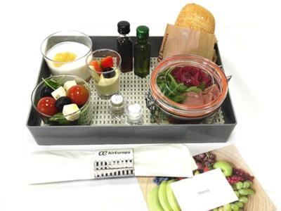 Air Europa, premiada por sus innovadores menús ecológicos y sostenibles