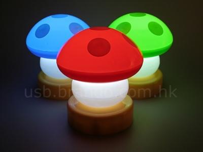 Lámpara en forma de champiñón de Mario