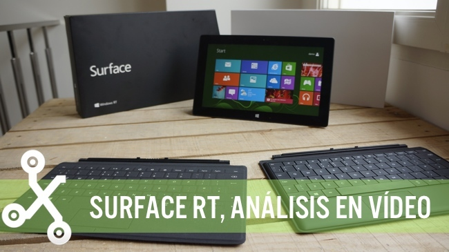 Surface RT análisis en vídeo