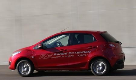 El motor Wankel se cuela en un Mazda 2 eléctrico para extender su autonomía