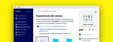 En el intento de hacerse la app para todo, Dropbox ha perdido la esencia sencilla que le hizo brillar