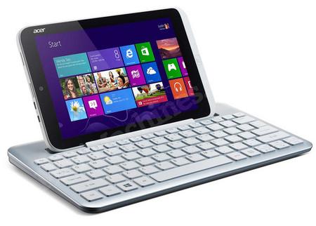 Se filtran la primer tablet de Acer de 8 pulgadas ejecutando Windows 8