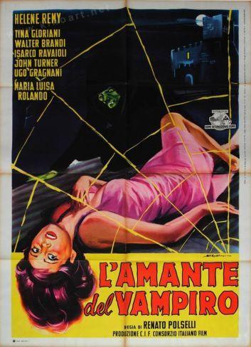 'L´amante del vampiro', el primer vampiro italiano