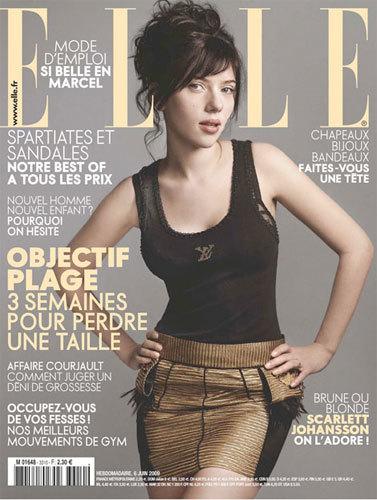 Scarlett Johansson para Elle París