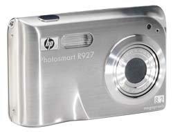 HP R927, cámara con efecto adelgazante