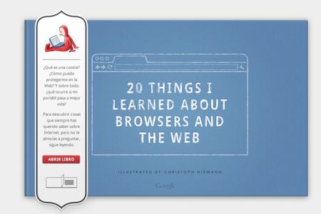 """Google libera el código del libro """"20 cosas que he aprendido de internet y los navegadores"""""""